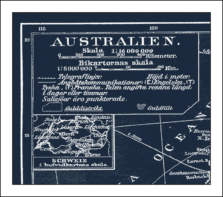 Australia map map of australia sydney perth blueprint map australia map map of australia sydney perth blueprint map world map vintage map blueprint 1879 malvernweather Image collections
