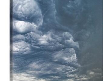 Large Canvas Art, Midwest Storm Photo, Landscape Canvas, Large Photo Canvas, BLarge Sized Photo, Photography Canvas, Storm Clouds Canvas