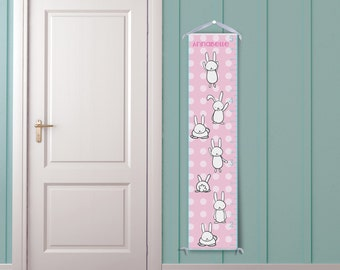 Happy Bunnies - Personalized Growth Chart