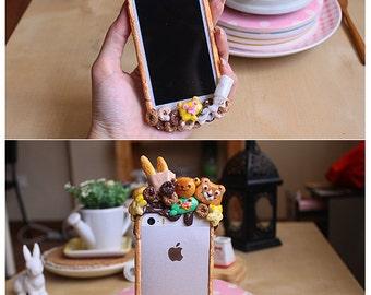 Craze Bumper Pink Panther's Toast Box - iphone 5s/4/5c case samsung galaxy s4 note 3 hard case bumper