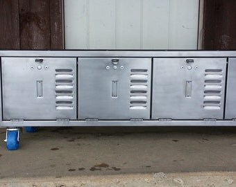 48 Inch Locker Bench Seat with Steel Top