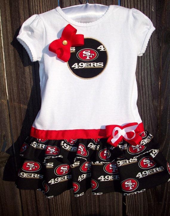 Items similar to NFL San Francisco 49ers Football Ruffle