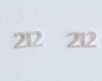I (212) NYC Earrings