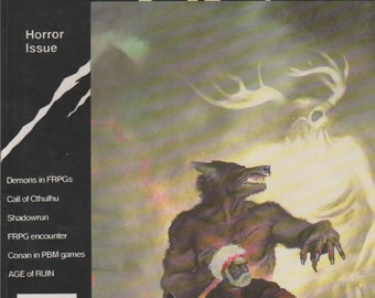 White Wolf 23 Roleplaying Game Magazine, Annual Horror Issue.  VF.  Oct/Nov 1990.  White Wolf