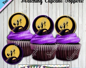 nightmare before christmas baby sho wer cupcake toppers other party