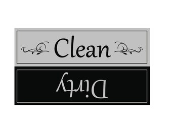 Clean/Dirty Dishwasher Magnet