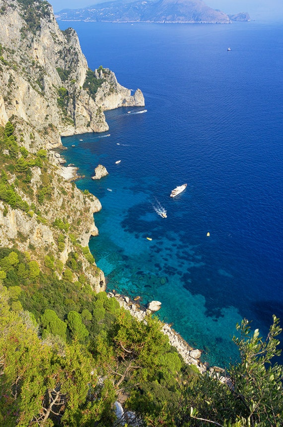 The Island of Capri is one of the most picturesque and visited locations in Campania. Its breathtaking landscapes and beauty stretch from the rocky caves around the island to the edge of the horizon, and has been an inspiration to poets, lovers and travelers throughout the centuries.