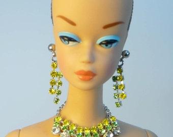 Handmade Fashion doll jewelry set  for Barbie, Reproduction Barbie, Silkstone Barbie and Fashion Royalty NE100050