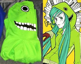 Matryoshka Vocaloid Hoodie - Green (Miku/Luka)