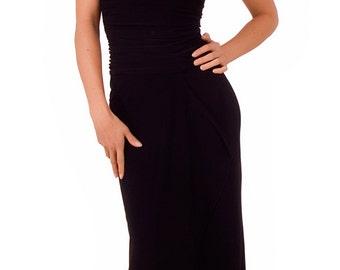 Long Sleeveless Formal Tube Dress