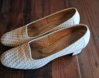 Fifth Avenue by Selby Woven heels size 6 1/2