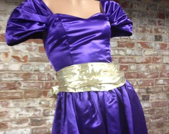 1980s Formal Party Dress!