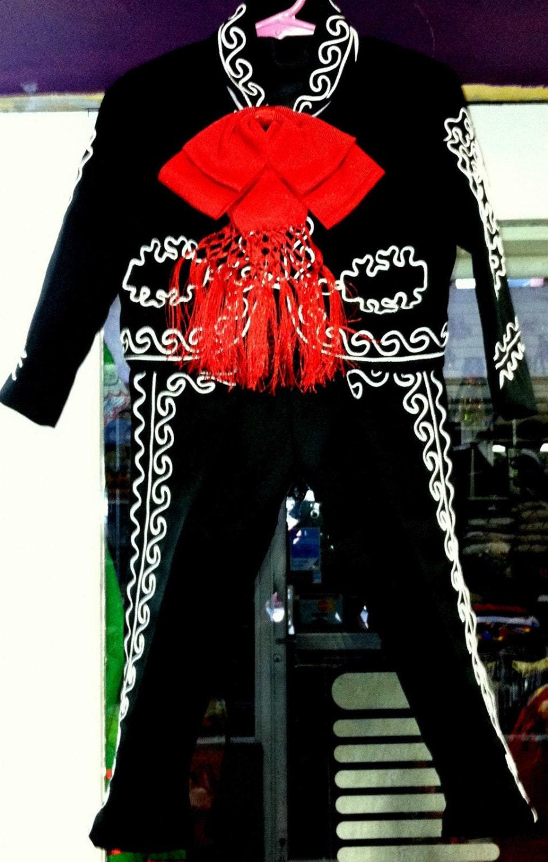 Boys Toddlers Mariachi Suit Set Mexico Folklorico 5 De Mayo