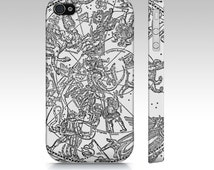 Constellation Map Premium Phone Case - iPhone and Samsung Case - Mobile Accessories - Black and White Phone Cover