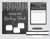 Guess the Baby Food Baby ...