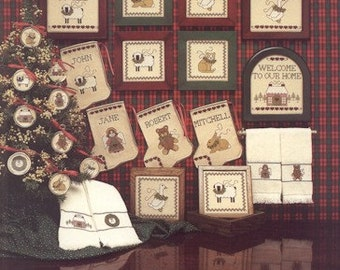 A Christmas Sampling Leaflet for Counted Cross Stitch - #11L