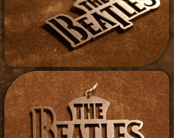 Custom Keychain- The Beatles - Rock Music