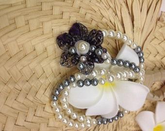 Moonlit Bloom Necklace
