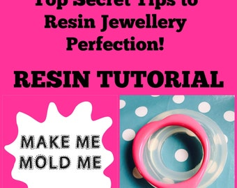 Resin Tutorial - How to Make Resin Jewellery - Guide to - Step by Step Tips