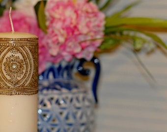 """7in. """"Diamonds Galore"""" Candle 
