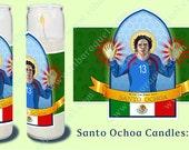 Santo Ochoa World Cup 2014 Brazil prayer candle.