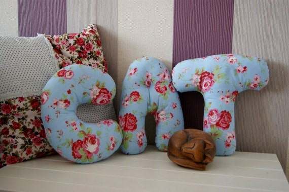 alphabet shaped cushions any letter handmade fabric alphabet cushions