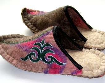 Felted Slippers(7)