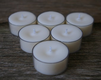 6pk Scented Soy Tealights - Handpoured