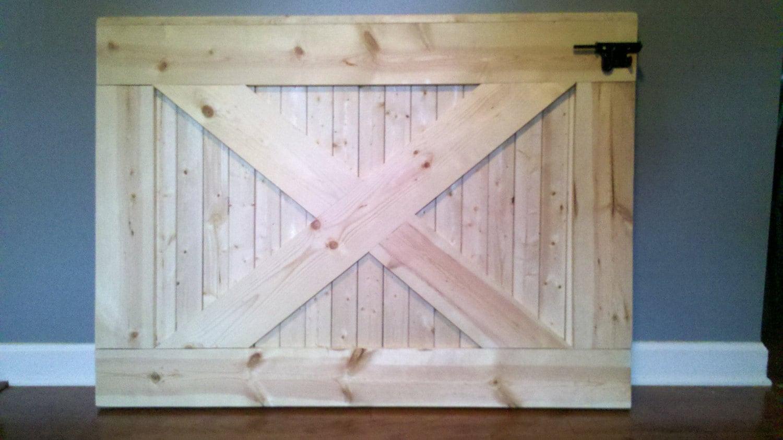 Custom Handmade Farmhouse Rustic Wooden Baby Dog Gate