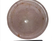 220 Gms crystal quartz bawl hand carved Reiki charged