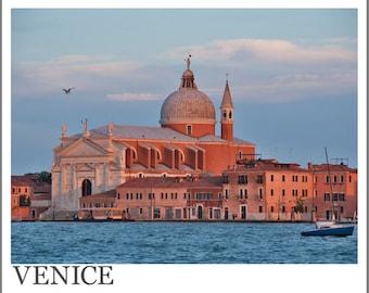 Venice, Italy Sunset Photo Print | Italy Wall Art | Venice Italy Wall Art | Italy Decor