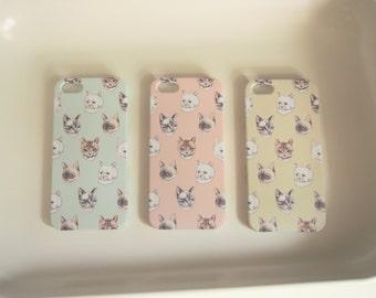 Cat Iphone Case for iPhone 4/4s, 5/5s, 5c,  & 6