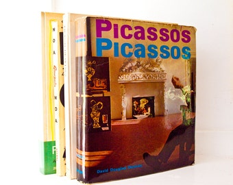 Picasso's Picassos  /  First Edition 1961 Book with Tipped in Plates