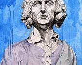 Sir Leopold Stately - Fine Art Print