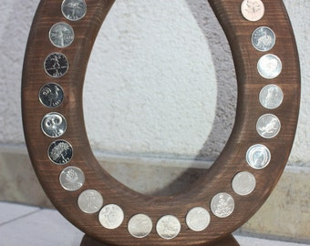 S  A  L  E   MAGIC Collection coins - 24 Coins on coin holder for Luck