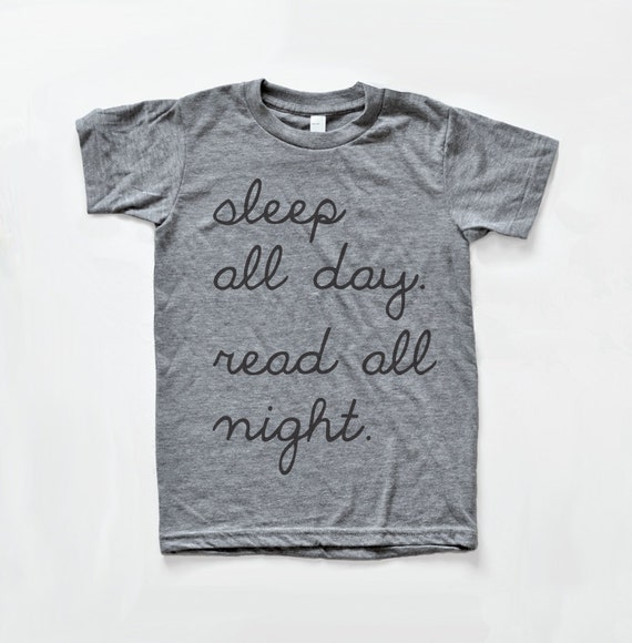 Read All Night Pajama Shirt