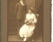 Vintage Photograph Wedding Picture