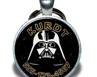 Pet ID Tag - Star Wars Darth Vader *Inspired*