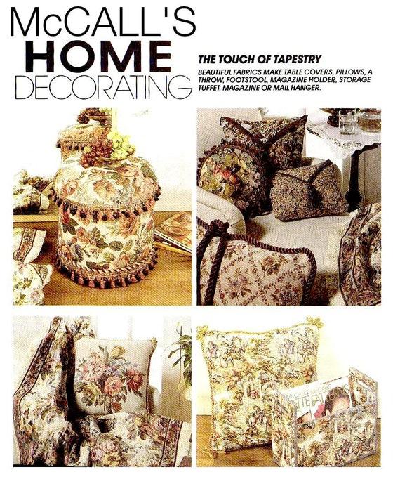 90s home decor sewing pattern mccalls 6778 by keepsakesstudio