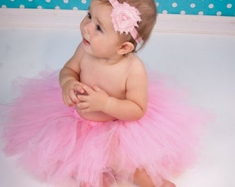 Baby Girl Pink Tutu Birthday Tutu Baby Tutu Photo Prop Baby Birthday Tutu Adult Tutus