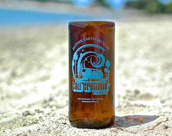 SALE: Mother Earth Cali' Creamin' Ale Glass Bottle Tumbler
