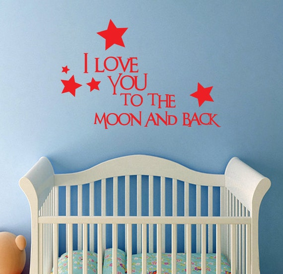 I Love You Quotes: Items Similar To Baby Wall Decal