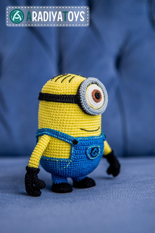 Amigurumi Eyes Australia : Crochet Pattern of yellow monster with one eye (Amigurumi ...
