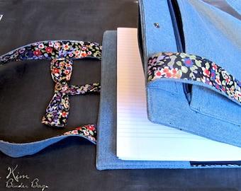 Chloë Binder Bag by Alicia Kim