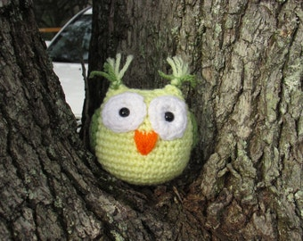 Oliver the Owl, Made to Order Crochet Amigurumi