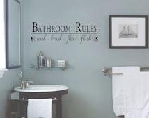cute bathroom flush reminder signs | just b.CAUSE
