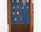 Lives In The Balance - Original Mixed Media Assemblage - Curiosity