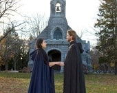 Wool Cloak - Hooded Cloak - Long Cloak - Elven Cloak - Medieval Cloak - Cloak with Hood - Cloaks and Capes