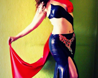 Professional belly dance costume, belly dance outft - LILITH - SALE 10% Free Shipping
