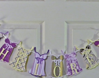 white yellow purple bachelorette banner yellow and